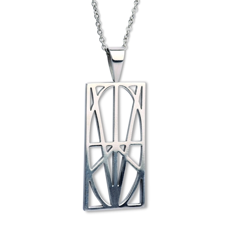Picture of Women's Large Stainless Steel Pendant