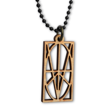 Picture of Women's Wood Pendant